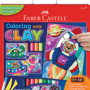 Do Art Coloring With Clay Space Pets
