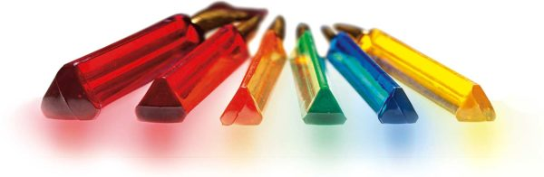 6 ct Triangular Handle Paintbrush Set