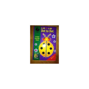 Buki Activity Book 1-25 & 1-50 DOT TO DOT (B1101)