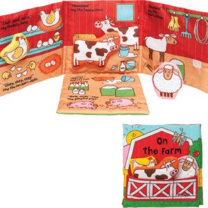 K's Kids On the Farm Cloth Book