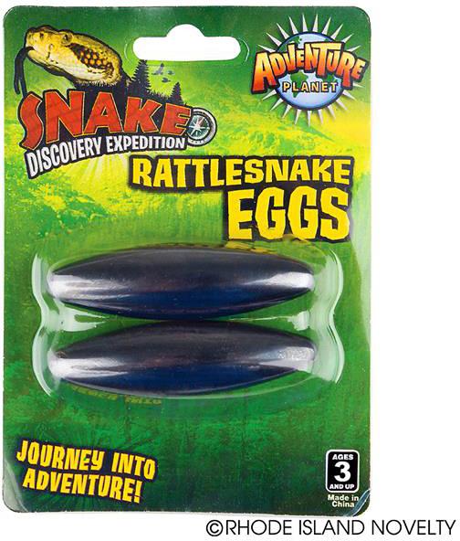 """2.5"""" Magnetic Rattle Snake Eggs"""