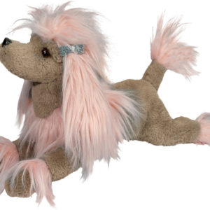 Douglas Zaza Pink Poodle Fur Fuzzle