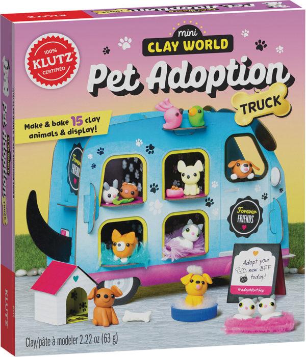 Klutz Mini Clay World Pet Adoption Truck