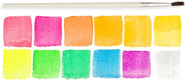 Chroma Blends Neon Watercolor Set