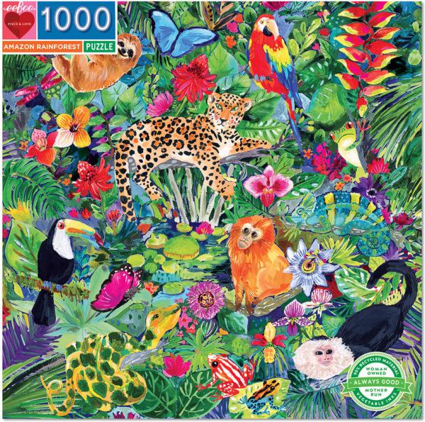 Amazon Rainforest 1000 Piece Puzzle