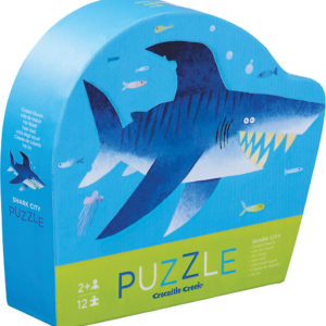 Mini Puzzle 12pc - Shark City