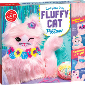 Klutz Sew Your Own Fluffy Cat Pillow