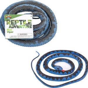 """48"""" Blue Viper Snake"""