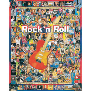 Rock N Roll Puzzles - White Mountain Puzzles