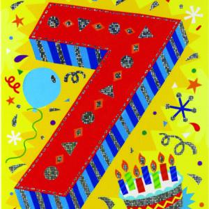 Age 7 Foil Card