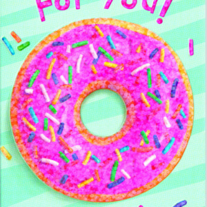 Donut Foil Gift Enclosure Card