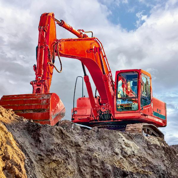Digger At Work 3X49Pc Puzzl