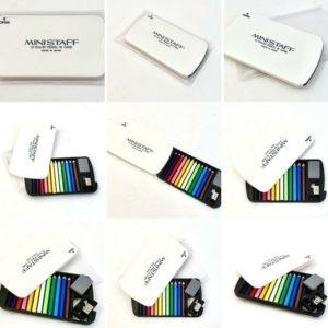 12 Mini Pencils In Card-white-1