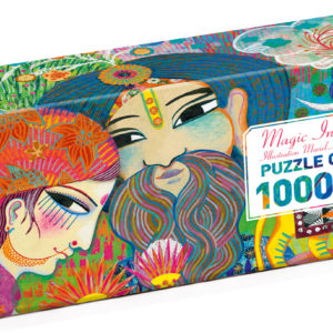 Djeco Magic India 1000Pc Gallery Jigsaw Puzzle + Poster
