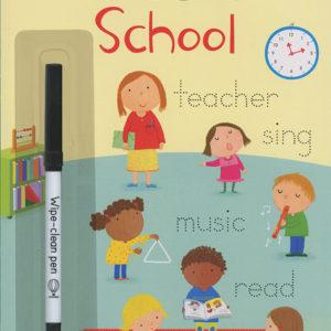 Little Wipe-Clean Word Book: School (Ir)