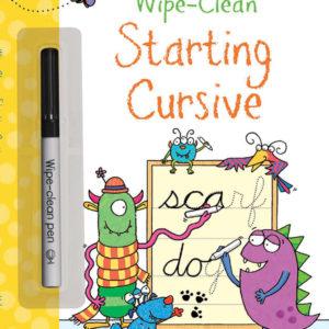 Wipe-Clean, Starting Cursive