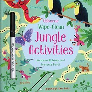 Wipe-Clean, Jungle Activities