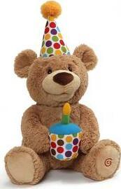 Happy Birthday Animated Teddy, 12 In