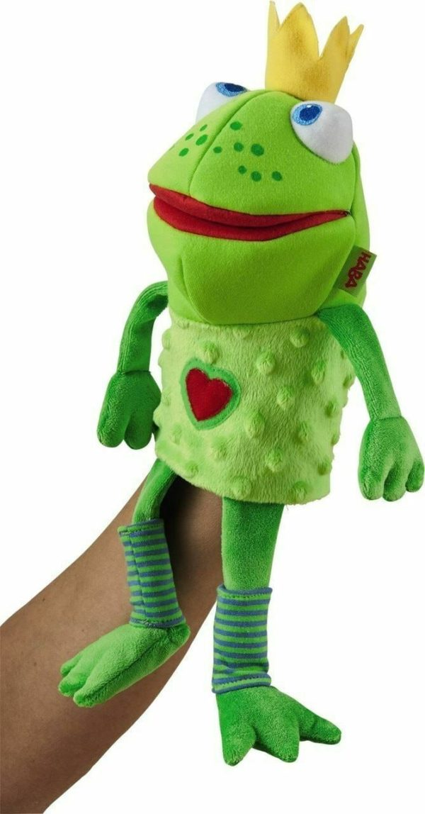Glove Puppet Frog King