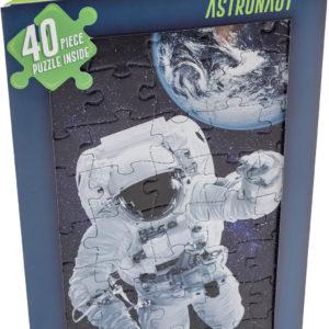 Astronaut jigsaw card