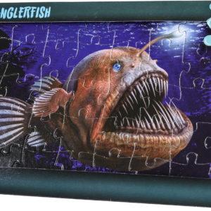 Angler Fish jigsaw card