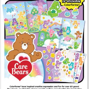 Colorforms Care Bears Travel Set
