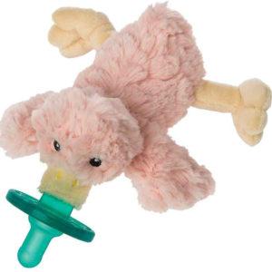 "Blush Putty Duck WubbaNub Pacifier - 6"""