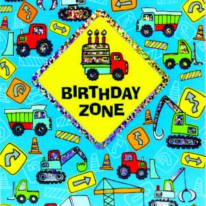 Birthday Zone Foil Card