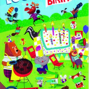 Birthday Seek & Find Tri-Fold Card