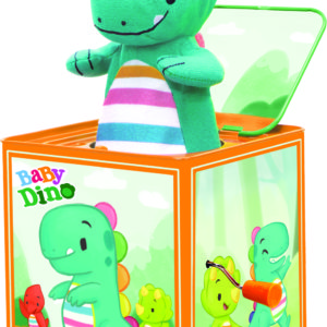 Baby Dino Jack In The Box