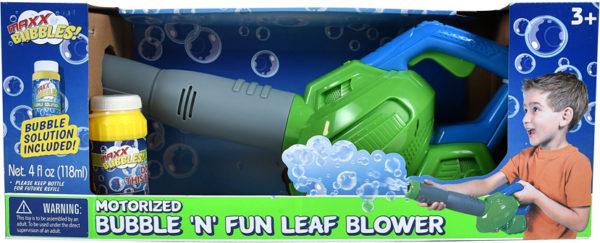 Maxx Bubbles! Motorized Bubble 'N' Fun Leaf Blower
