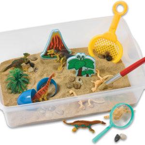 Sensory Bin - Dinosaur Dig