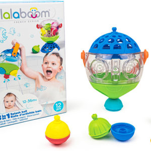 Lalaboom - 3 in 1 Splash Ball - 12 pc Bath Set