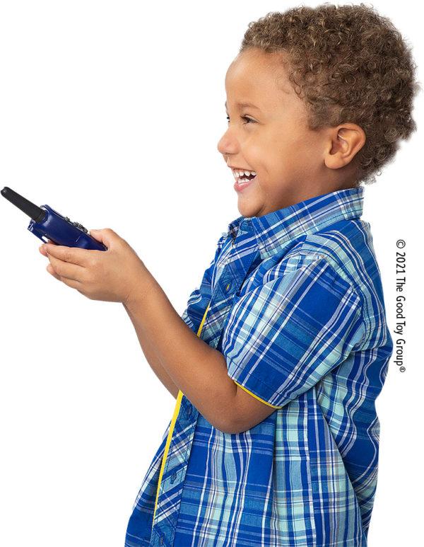 Retevis RT388 2 pcs Kids Walkie Talkies with Flashlight - Dark Blue