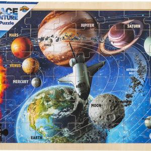 "15.75"" X 11.75"" 48Pc Space Puzzle"