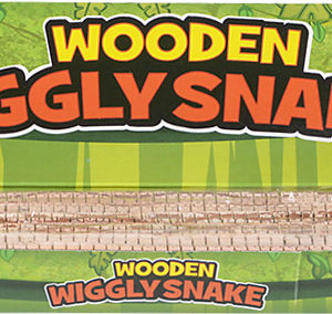 """20"""" Wooden Wiggly Snake"""