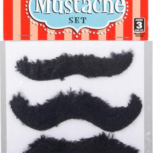 """3.5"""" 3 Pc Mustache Set"""