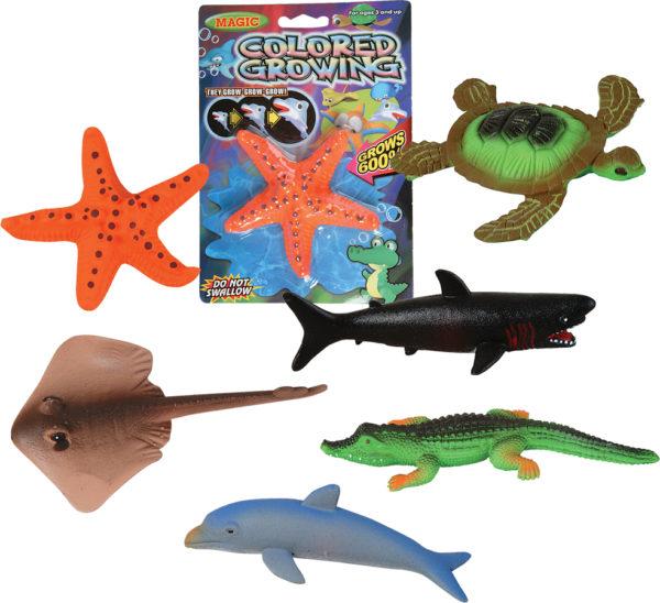 """6"""" Medium Growing Sea Animals"""