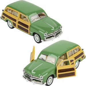 """5"""" Diecast 1949 Ford Woody Wagon"""