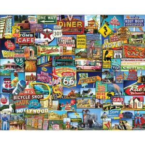 Roadside America-White Mountain Puzzles