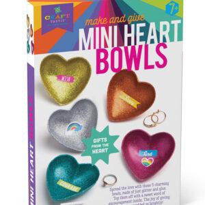 Craft-tastic Mini Heart Bowls Kit