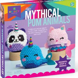 Craft-tastic Mythical Pom Animals Kit