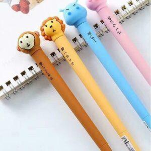 Zoo Animal Soft Body Gel Pen-24
