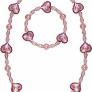 Cotton Candy Necklace Bracelet Set