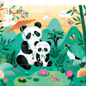 Djeco Leo The Panda 24 Pc Jigsaw Puzzle