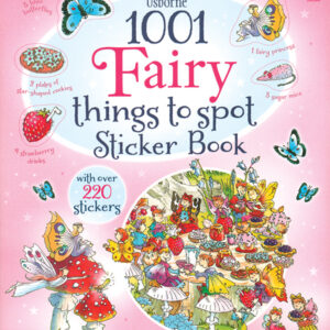 1001 Fairy Things To Spot Sticker Book