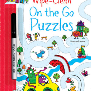 Wipe-Clean, On The Go Puzzles