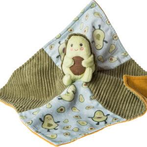 """Yummy Avocado Character Blanket - 13x13"""""""