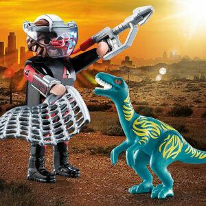 Duopack Velociraptor With Dino Catcher
