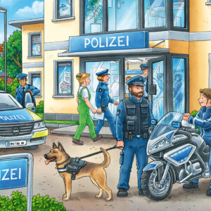Police At Work 2X24Pc Puzzl